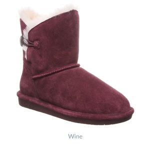 Bearpaw Rosie Ankle-High Sheepskin Boot for Woman